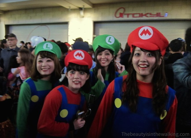 Luigis and Marios Halloween 2015