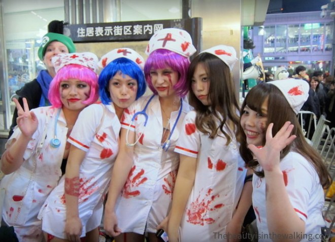 Infirmières ensanglantées - Halloween 2015