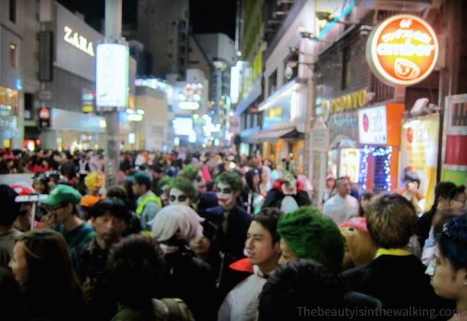 Rues de Tokyo - Halloween 2015