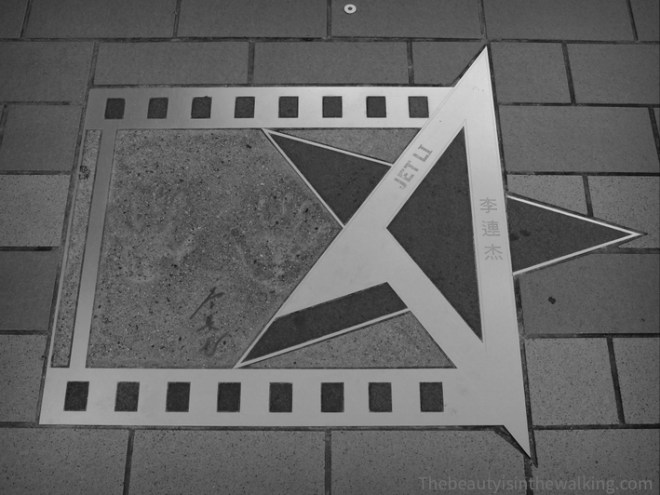 Avenue of stars - Jet Li