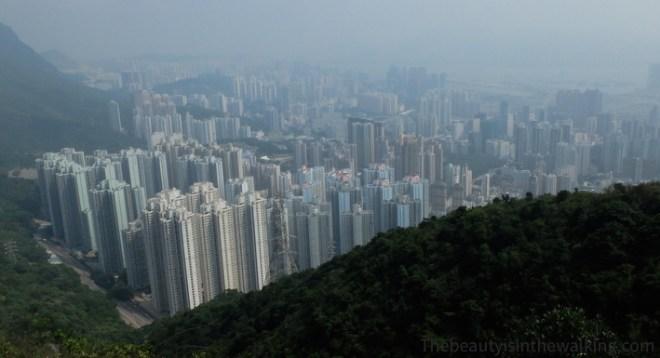 Vue sur Hong Kong