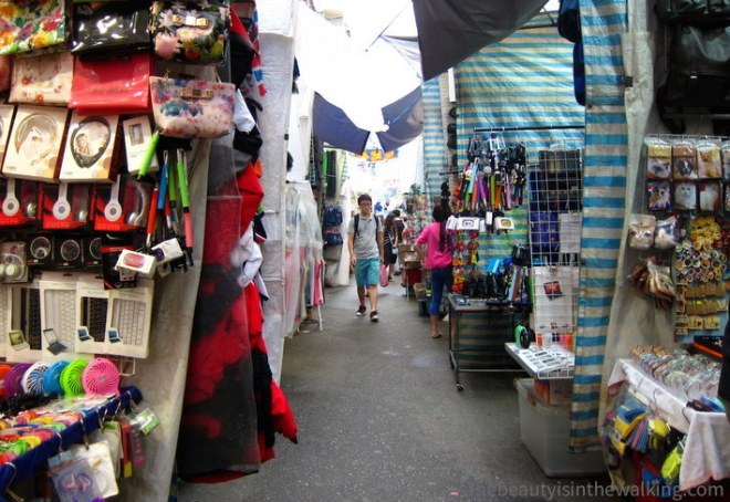 Marché de Mongkok - Hong Kong