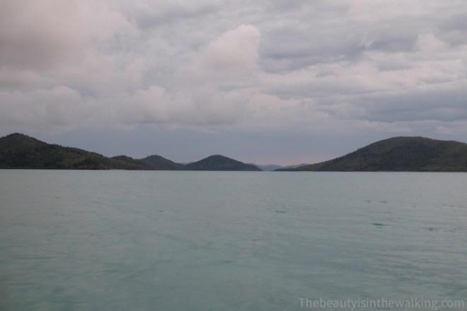 Mer calme sur les Whitsunday Islands