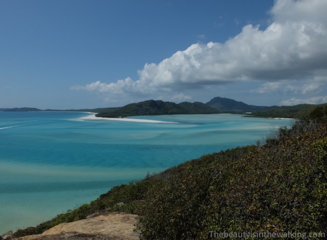 Lagoon of Whitehaven Beach
