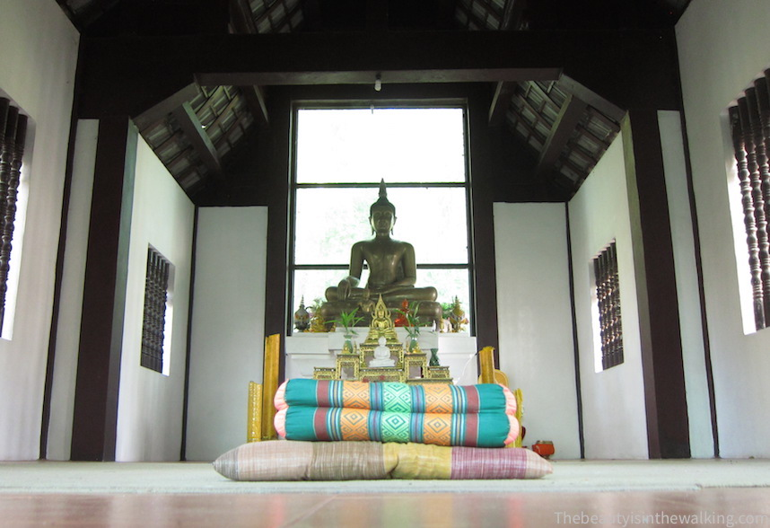 Temple - lieu de méditation