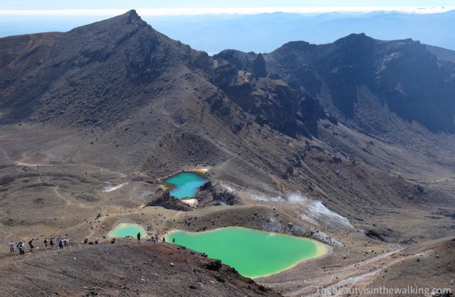 Lacs émeraudes, Tongariro Crossing, NZ
