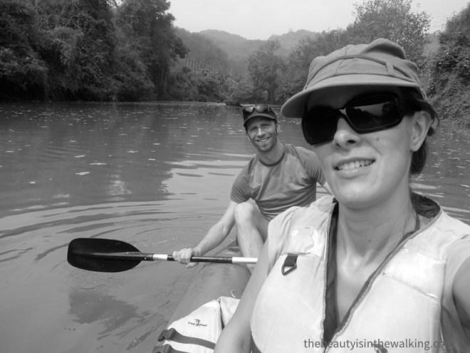 Descente en kayak, Luang Namtha, Laos