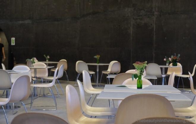 Ordrupgaard Museum's café, Charlottenlund, DK