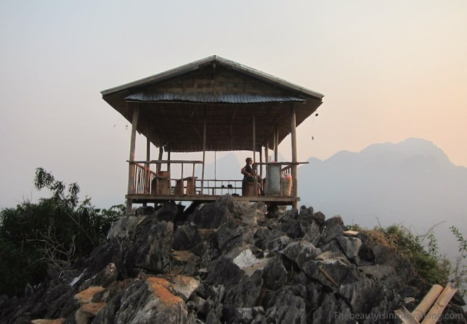 Point de vue - Nong Kiaew, Laos