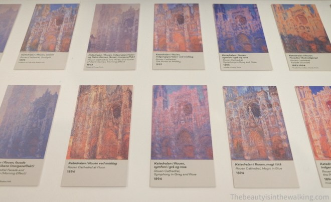 Series of Rouen Cathedral.