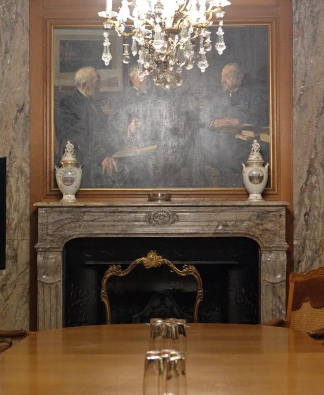 Salle de réunion, palais Erichsen, Copenhague