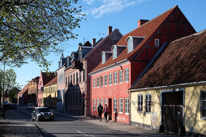 Streets of Helsingør, Denmark