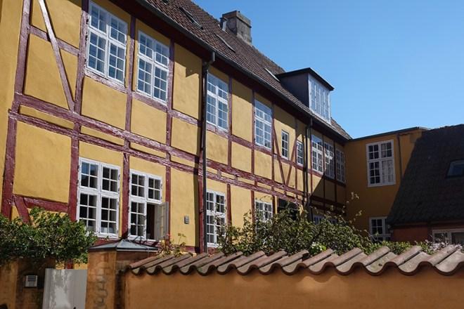 Houses in Helsingør, Denmark