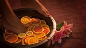 The Beauty Island spa treatments 22 Copy - Pedicure & Fruit foot bath