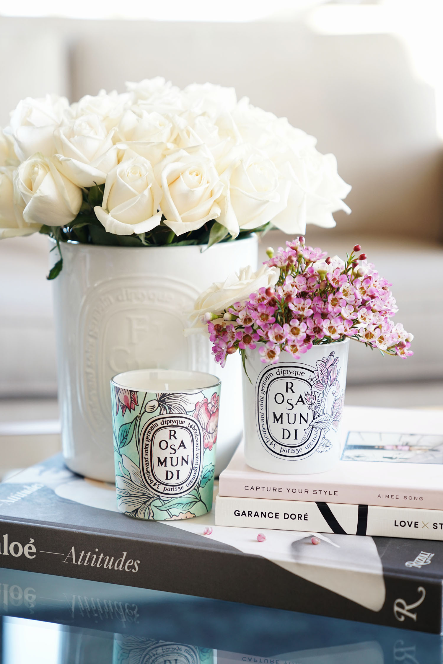 Diptyque Rosa Mundi Candle 2017 Launch The Beauty Look Book