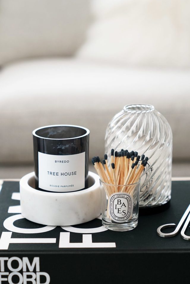 Byredo Tree House Diptyque Photophore 1440x2159 - Best Decorative Trays for Your Vanity + Beauty Products