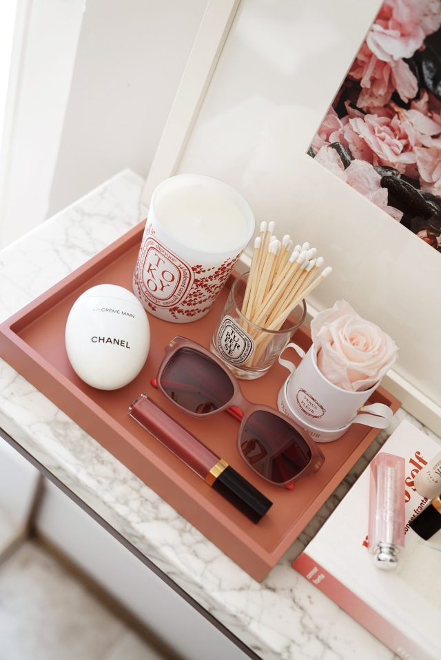 Pink Tray West Elm 1440x2159 - Best Decorative Trays for Your Vanity + Beauty Products