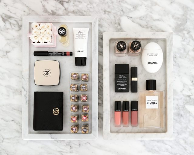 Vanity Display Marble Tray Beautylookbook 1440x1153 - Best Decorative Trays for Your Vanity + Beauty Products