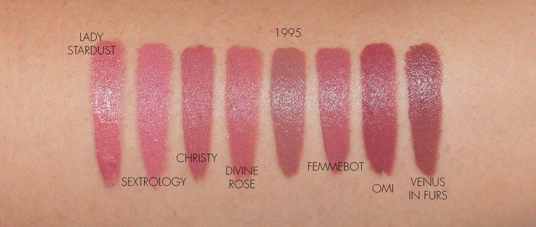 Pat McGrath Labs Pink Nude Lipstick swatches