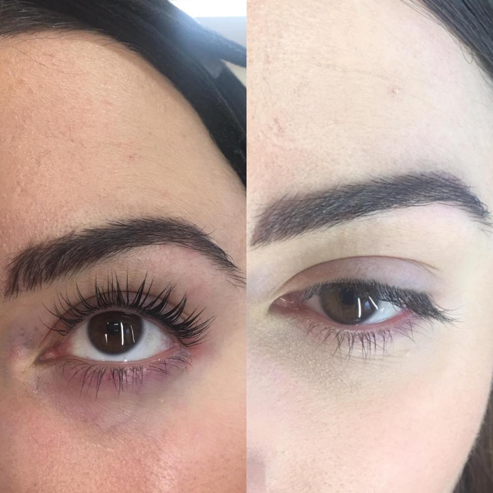 Eyelash lift Leicester