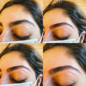 eyebrow threading at the beauty refinery