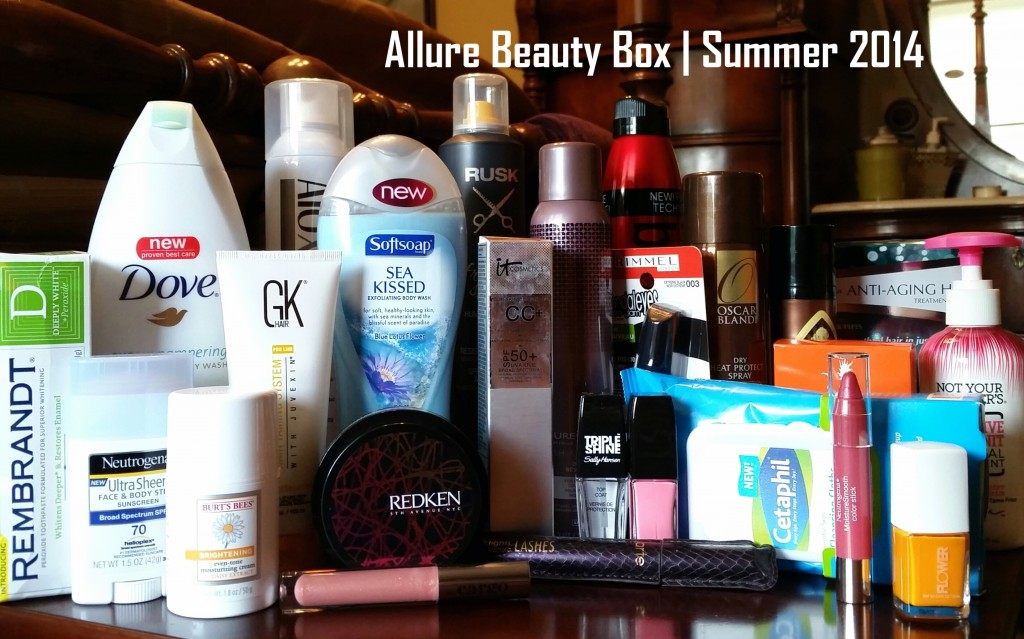 Allure Beauty Box | Summer 2014