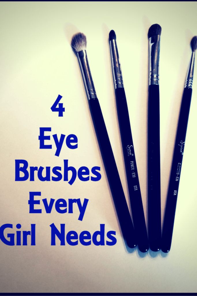 4 Eye Brushes Every Girl Needs to get the most blended beautiful eye makeup.