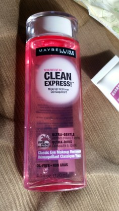 Maybelline Clean Express Eye Makeup Remover