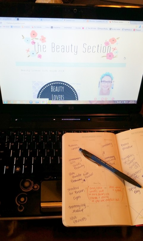 A behind the scenes look at my writing process I go through on my blog