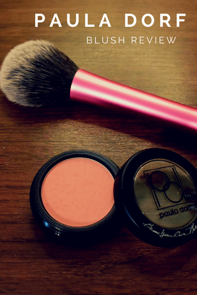 Paula Dorf Blush Review
