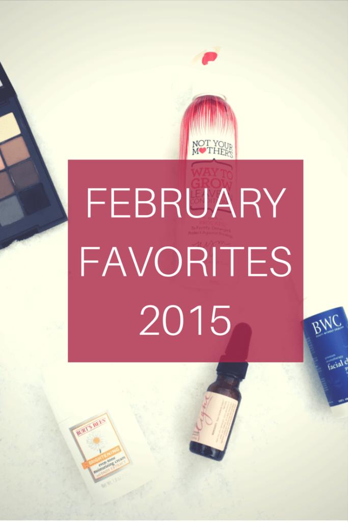 February Favorites // 2015
