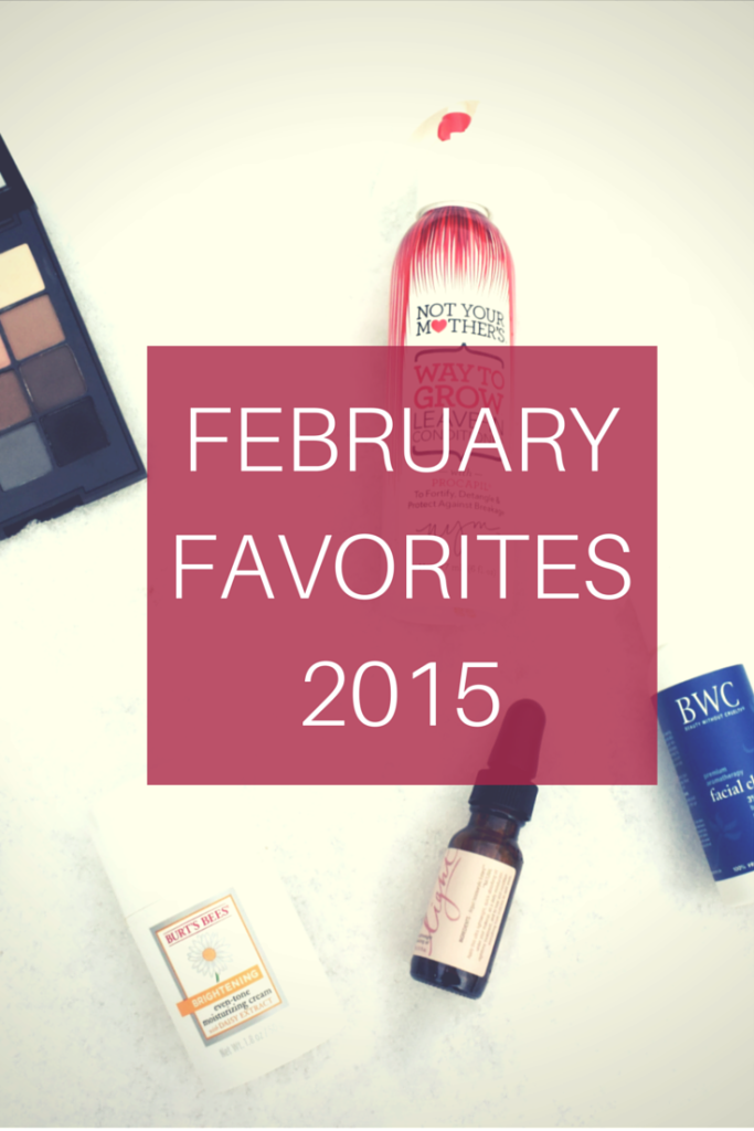February Beauty Favorites 2015 | Makeup | Skincare | Hair Care | Candle