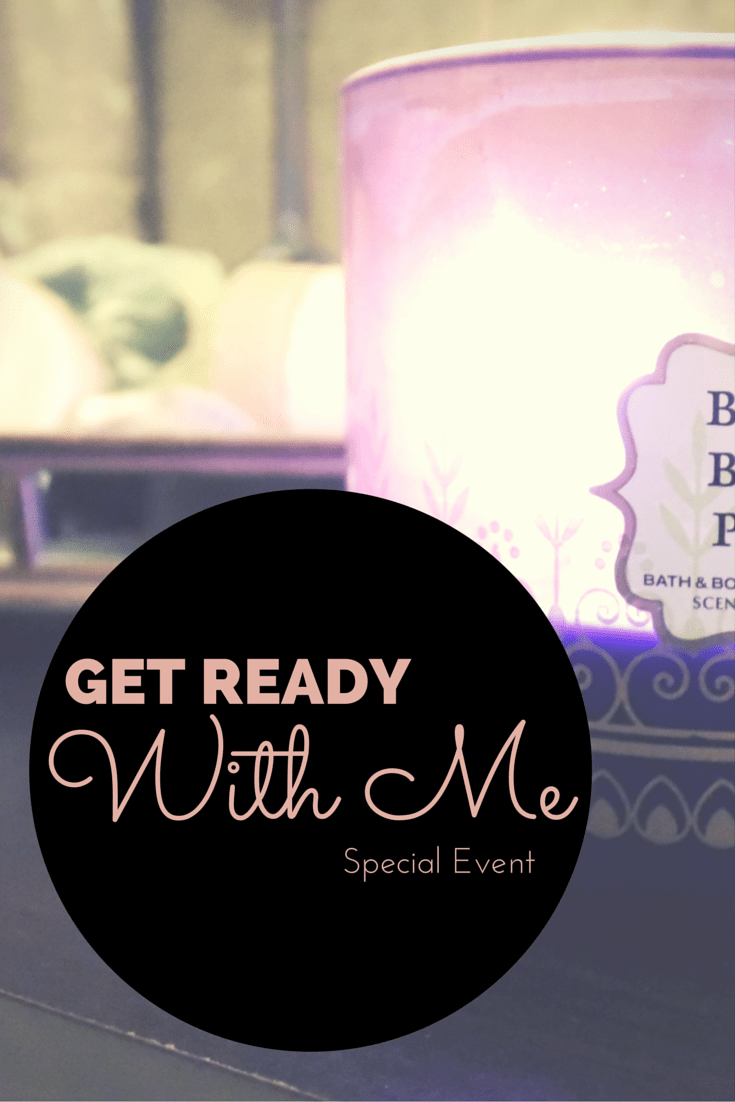 Get Ready With Me: Special Event Edition // Face Mask, Hair Mask, Bubble Bath, and more