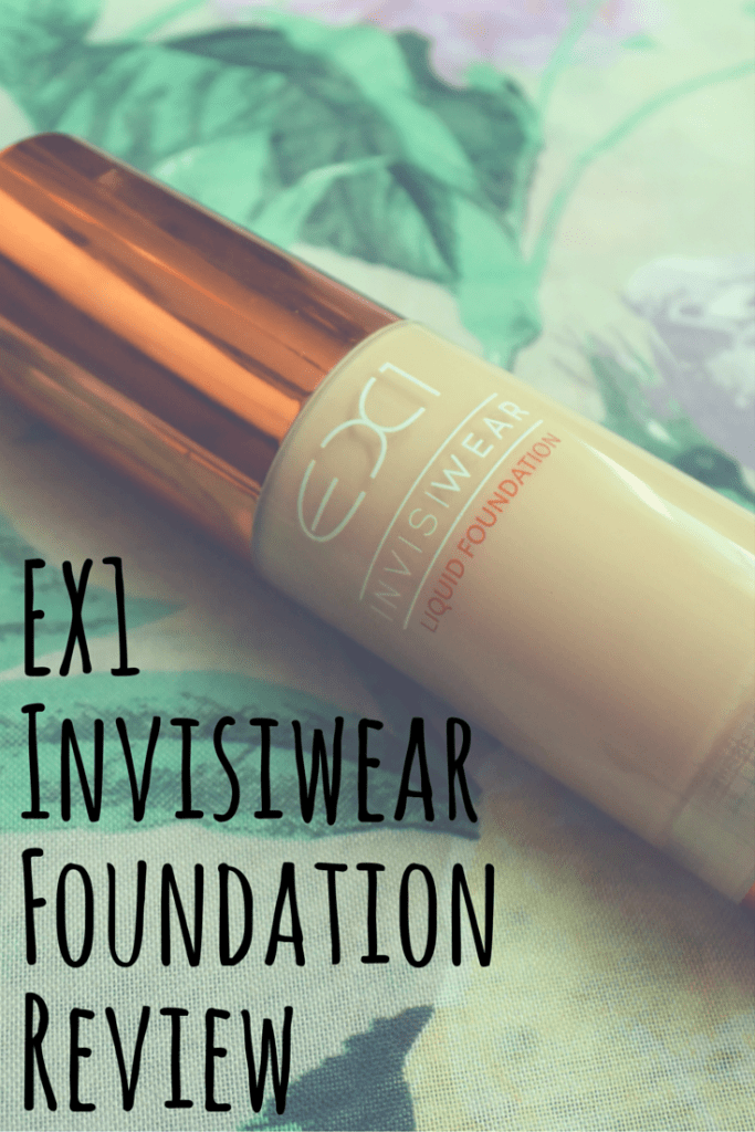 Review and Demo of the EX1 Invisiwear Foundation