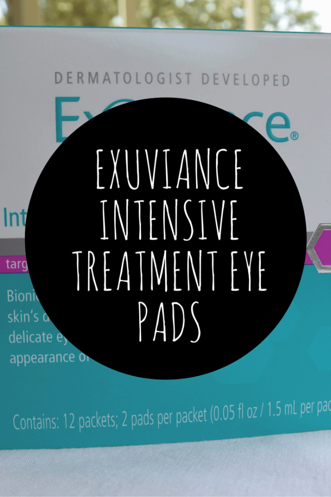 Exuviance Intensive Treatment Eye Pads Review