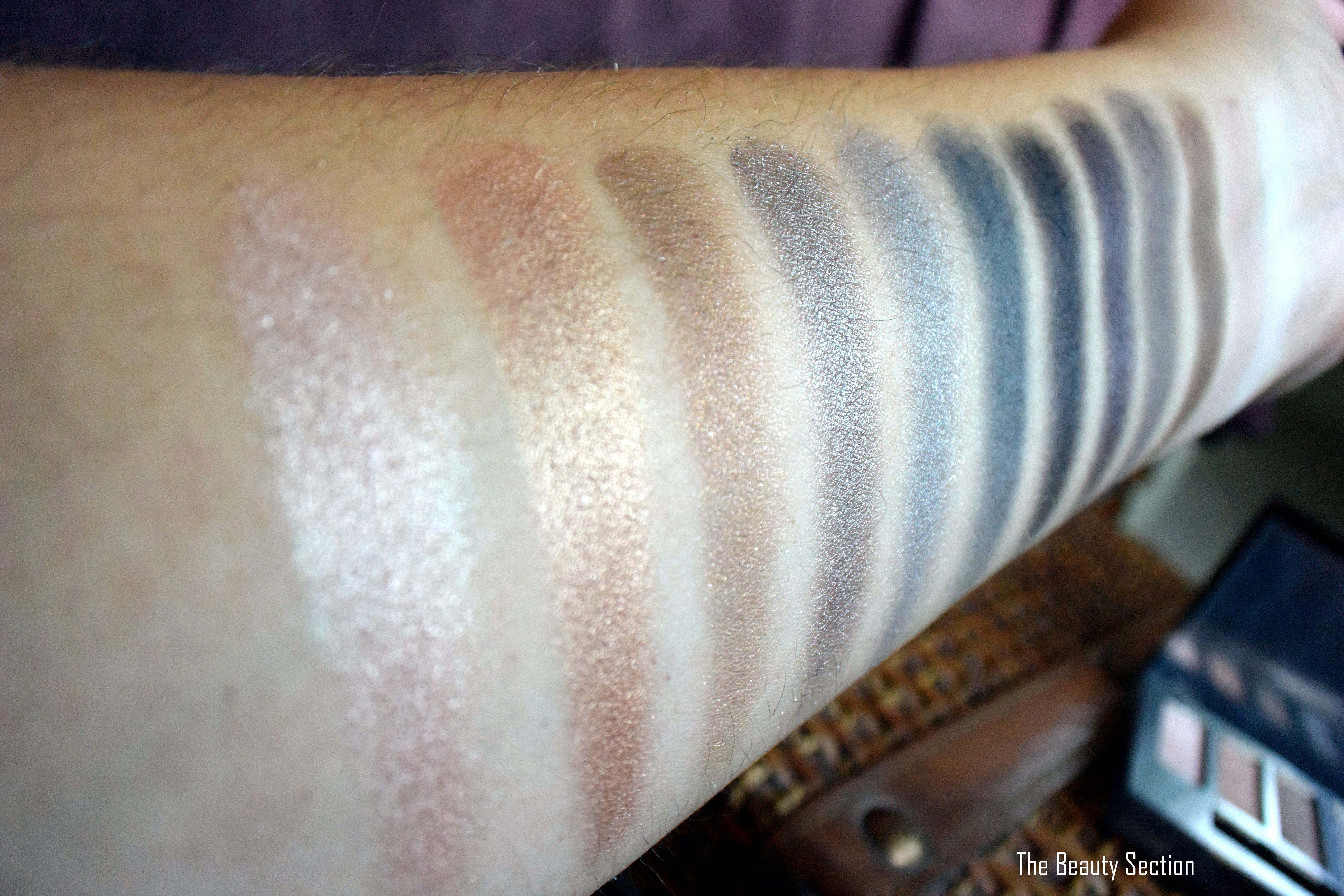 Urban Decay Naked Smoky Review & Swatches