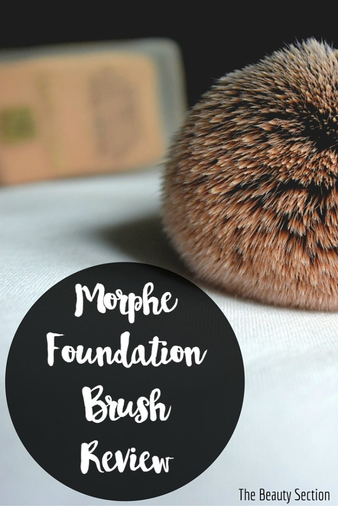 Morphe Foundation Brush Review.
