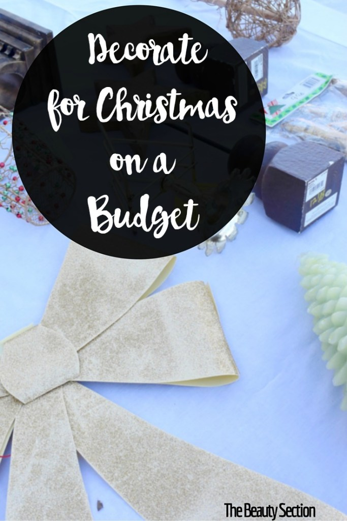 Decorate for Christmas on a Budget