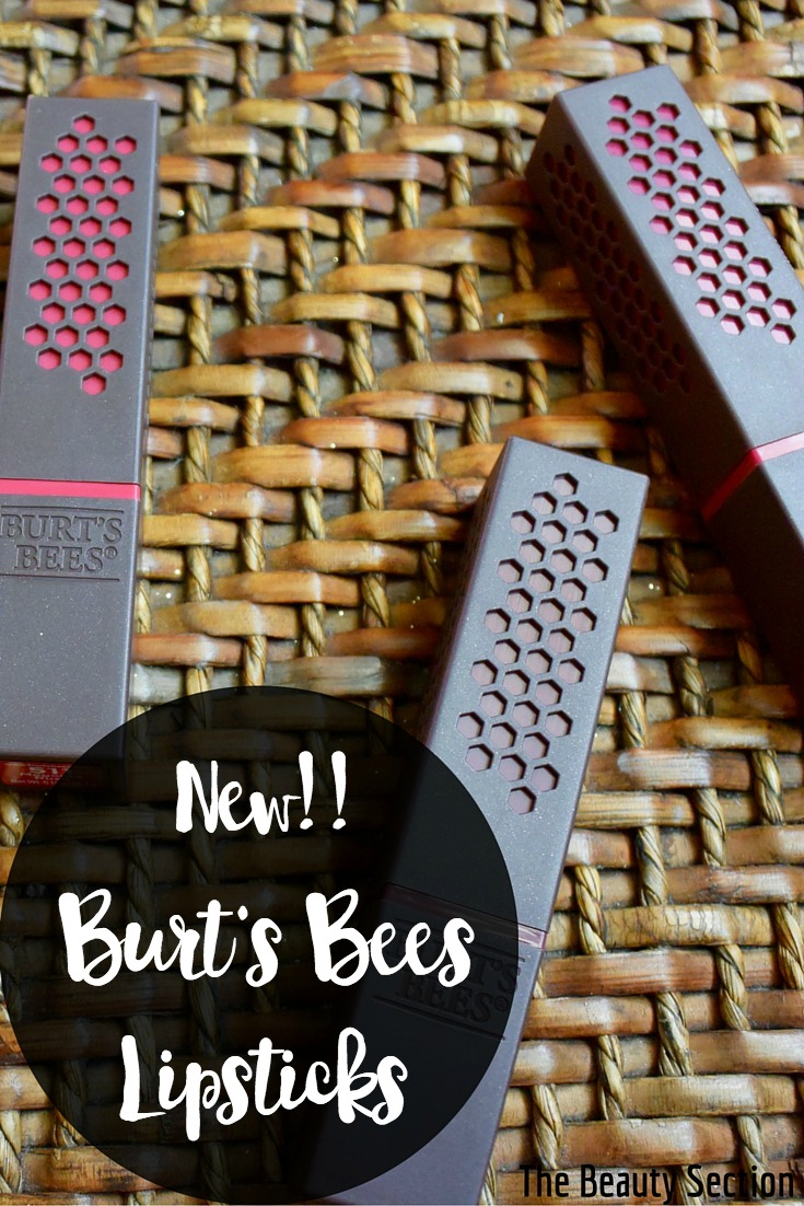Burt's Bees New Lipsticks