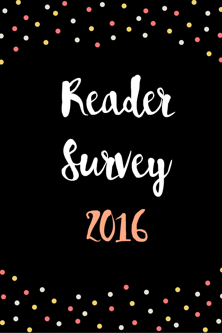 Reader Survey 2016