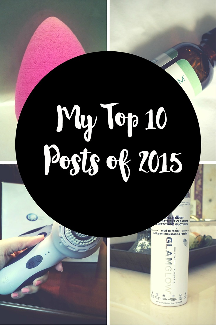 My Top 10 Beauty Posts of 2015