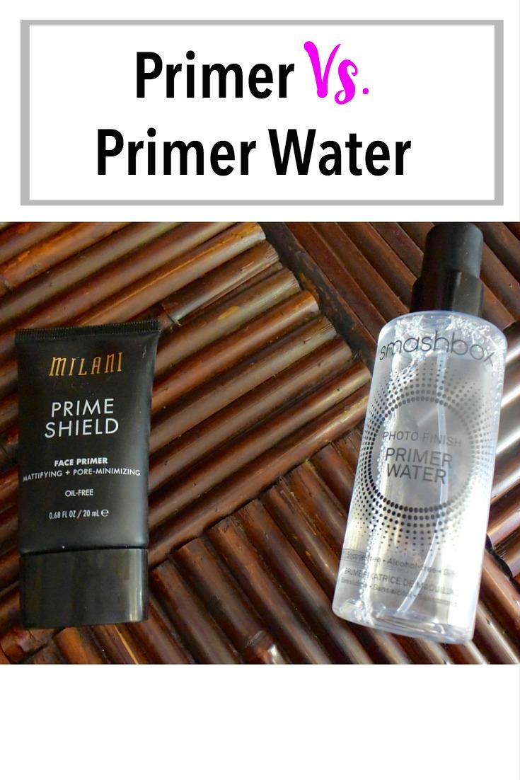 Primer Vs. Primer Water