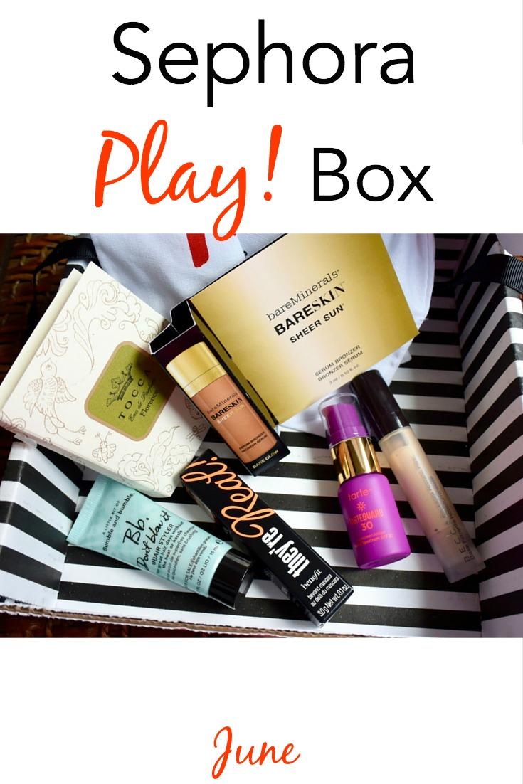 June Sephora PLAY! Box