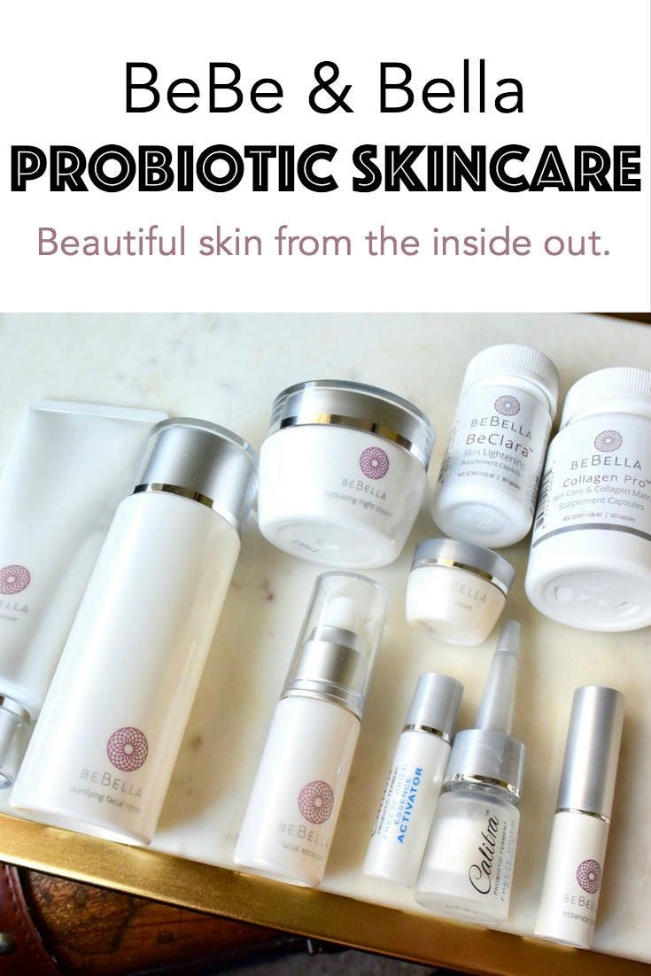 BeBe & Bella Probiotic Skincare Review. Beautiful skin from the inside out.