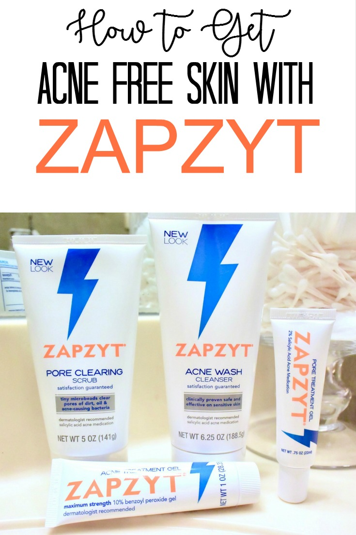 How to Get Acne Free Skin with ZAPZYT
