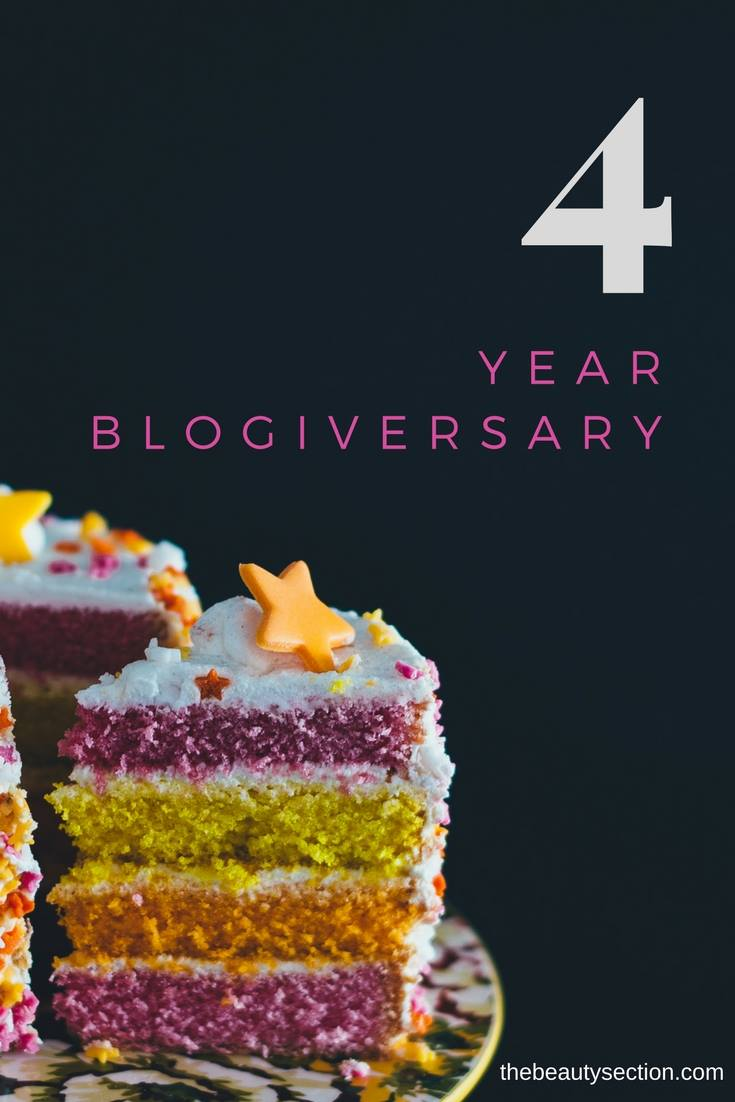 4 Year Blogiversary - My Current Anti-Aging Skincare Routine