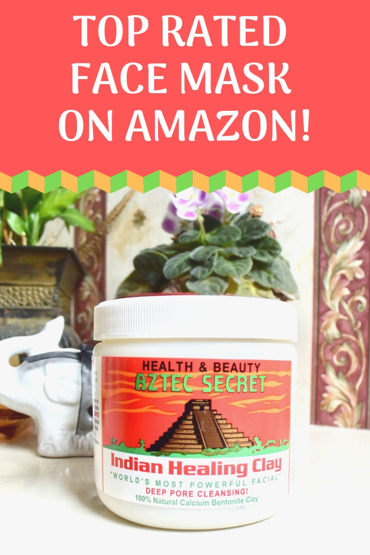 Top Rated Face Mask on Amazon! Aztec Secret Healing Class Deep Pore Cleansing Mask