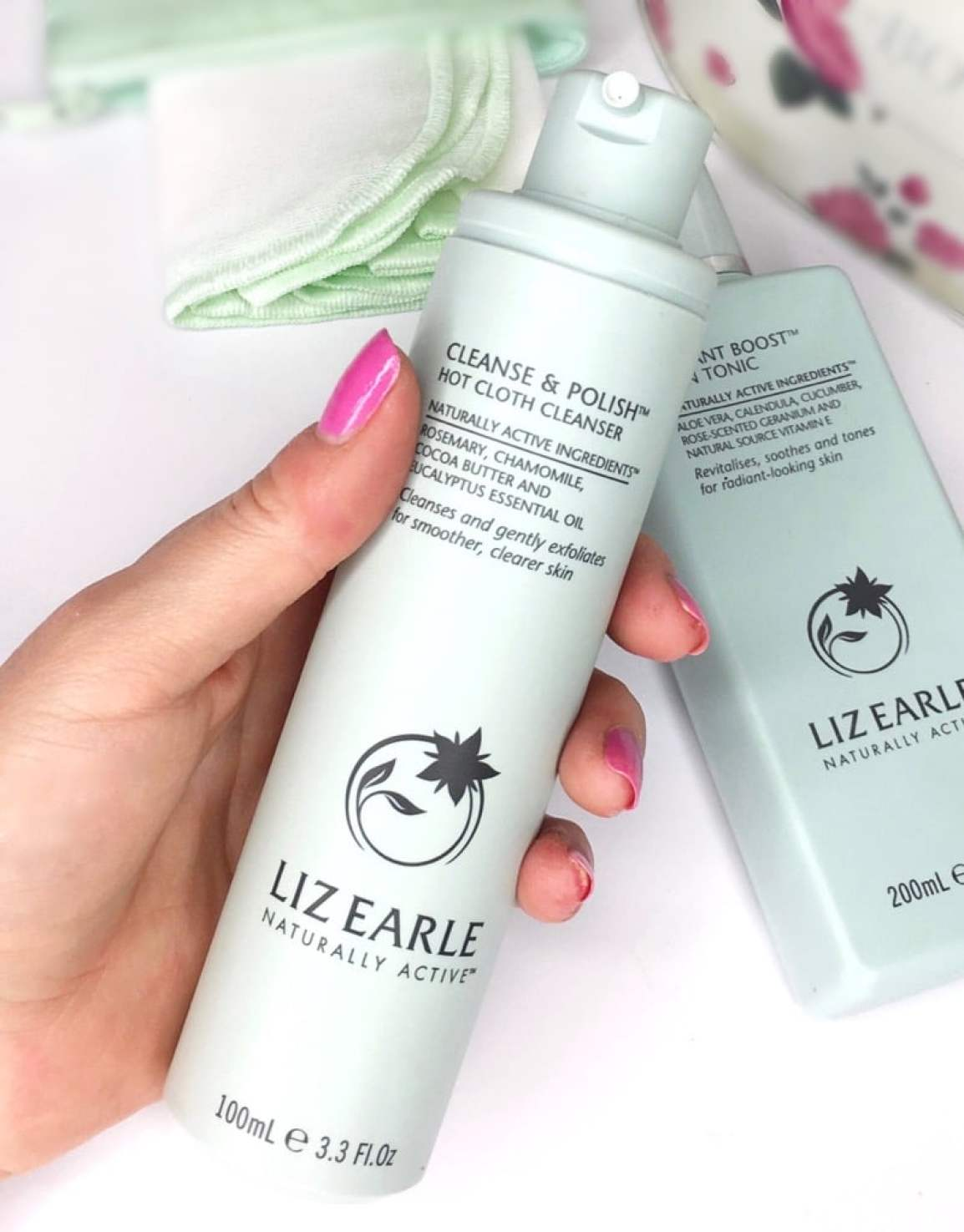 Showing the consistency of Liz Earle Cleanse And Polish