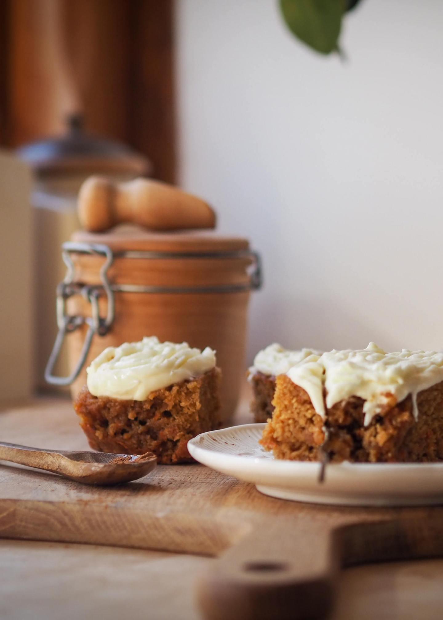 Carrot cake recipe uk