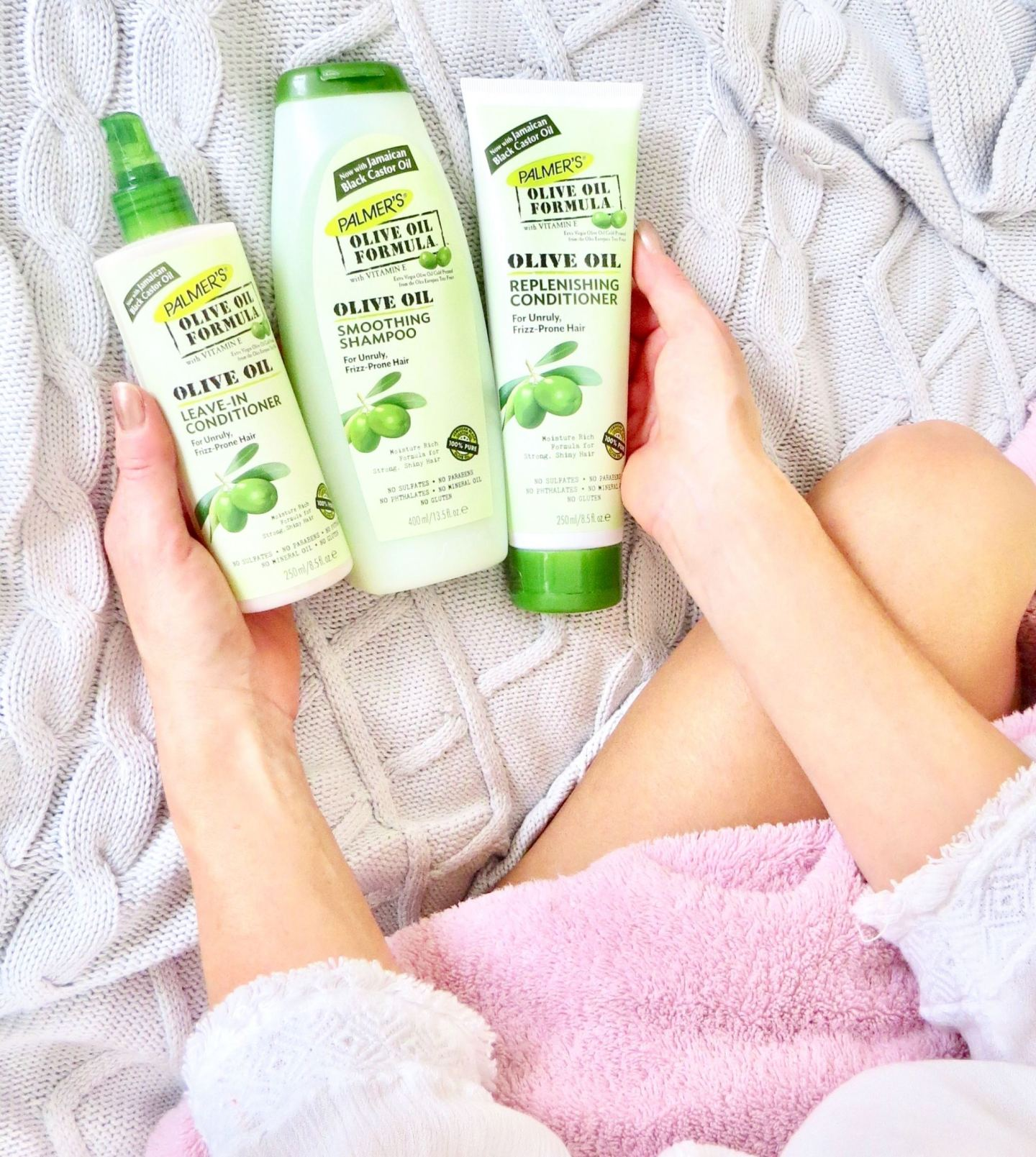 Palmer's Olive oil haircare